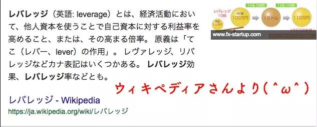 wikipedia_レバレッジ
