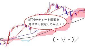 MT4のチャート設定方法