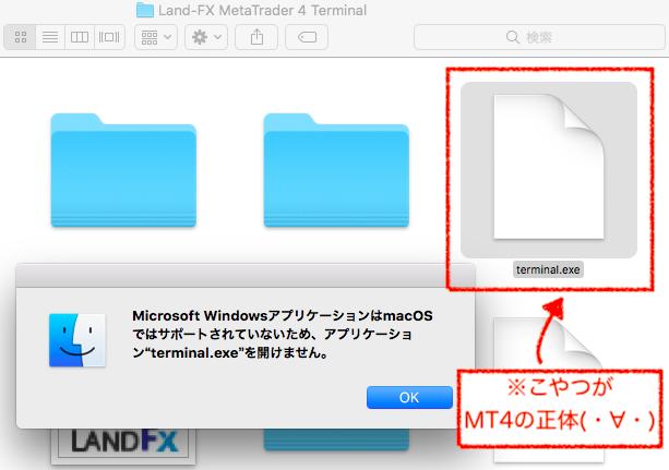 terminal.exeが開けない画面